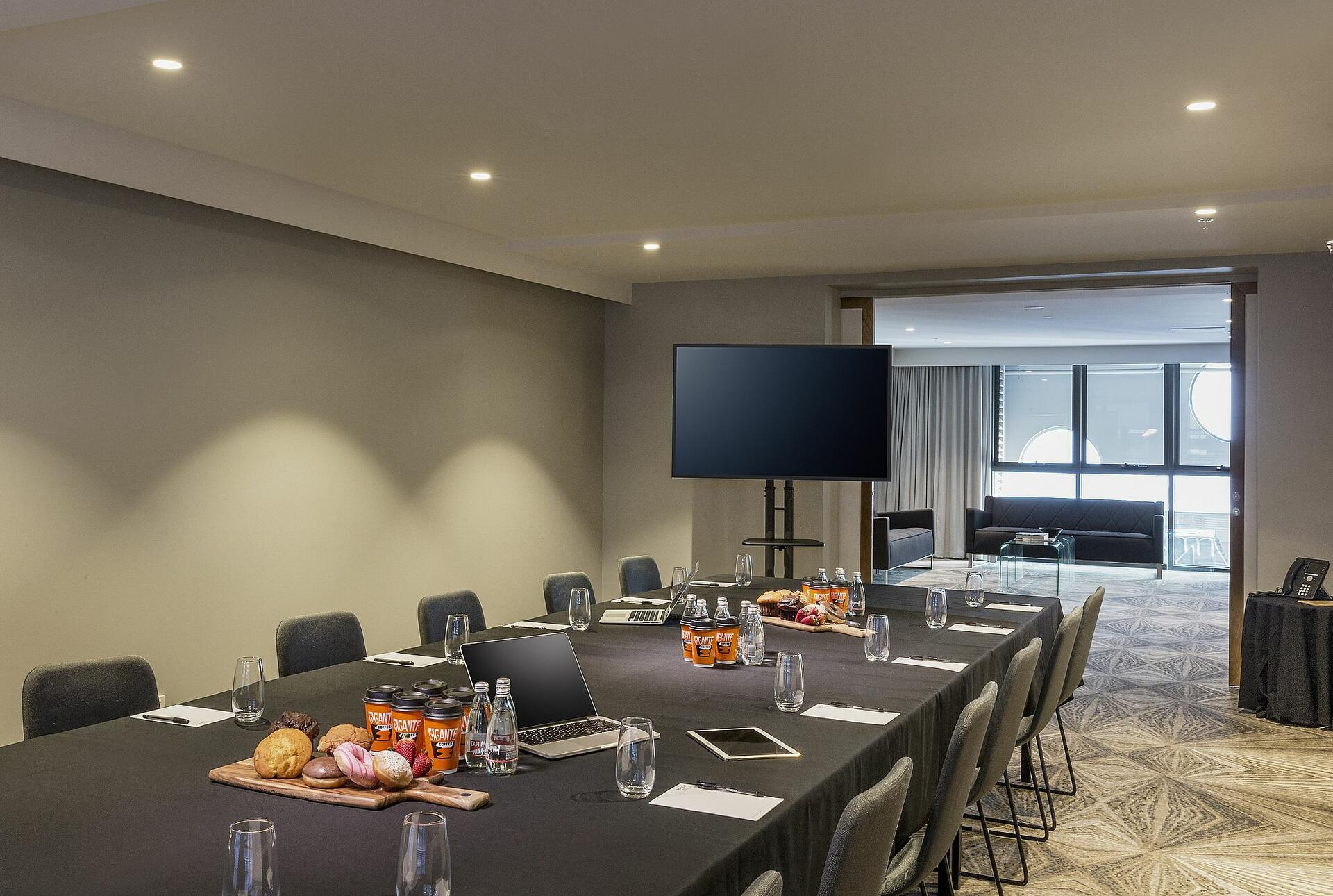 Boardroom at Brady Hotel Central Melbourne