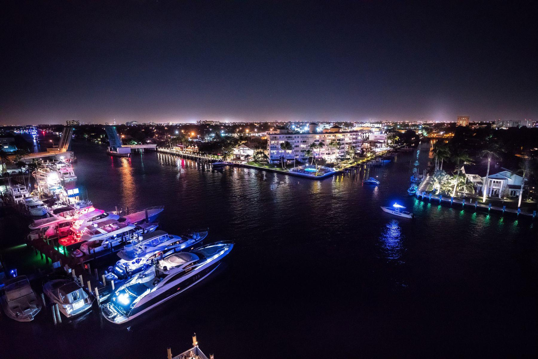 Sands Harbor - Instacoastal view - Night shot