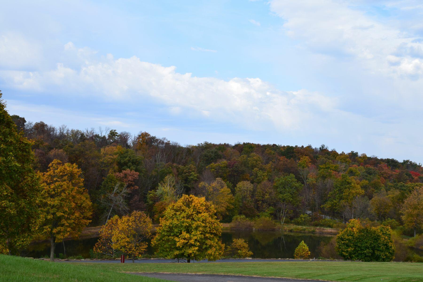 Autumn in Gettysburg.