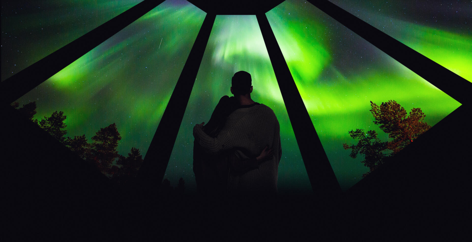 Romantic packages at Northern Lights Village in Saariselkä, Lapl