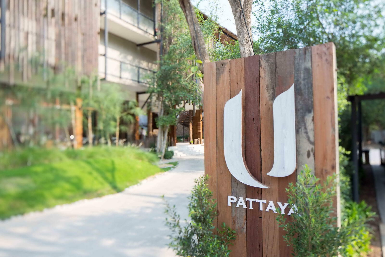 U Pattaya Hotel Entrance