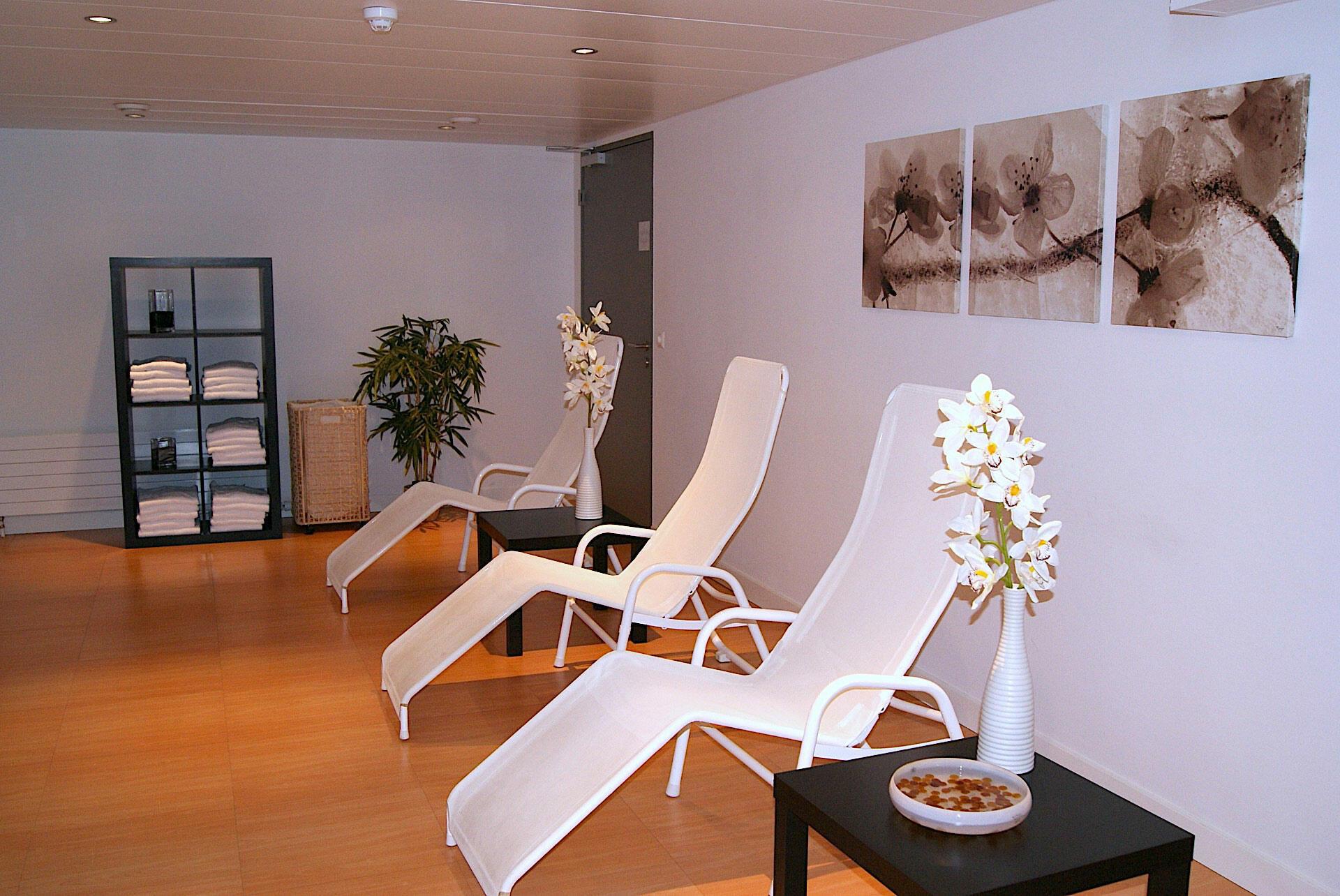 Sauna à l'Airport Hotel Basel