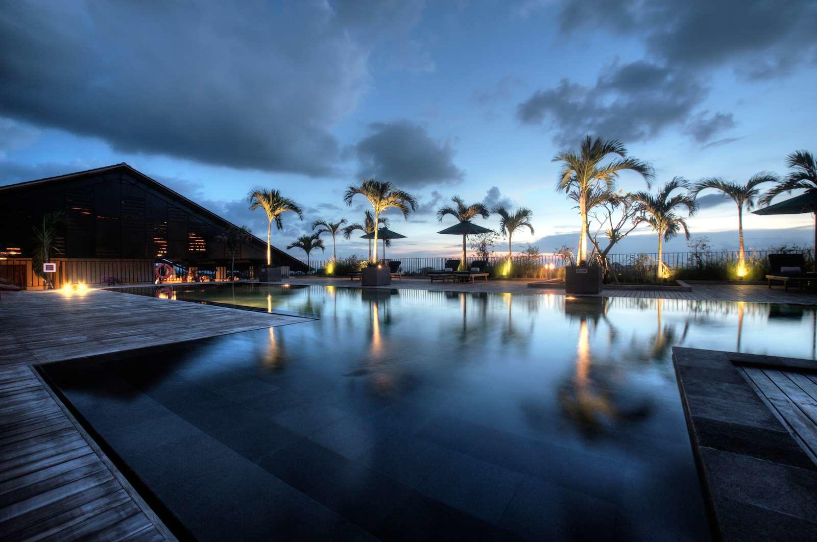 U Paasha Seminyak Bali Swimming Pool View