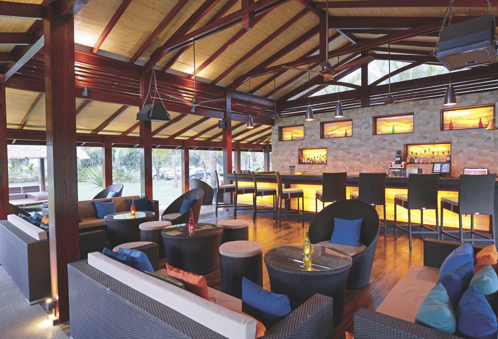 Captain Cook's Bar at U Tropicana Alibaug