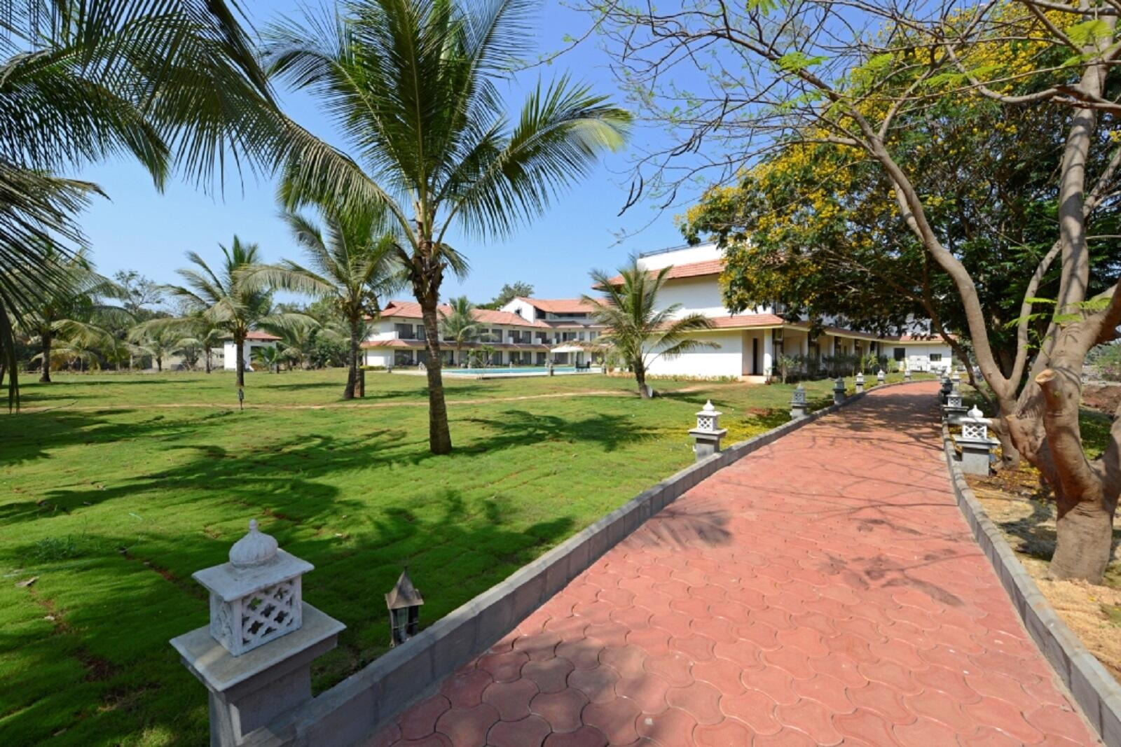 U Tropicana Alibaug Landscape
