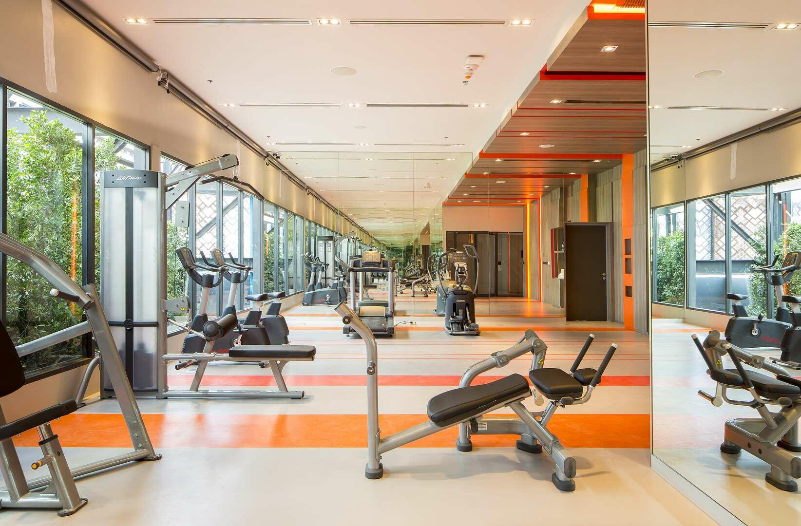 Fitness Gym at U Nimman Chiang Mai