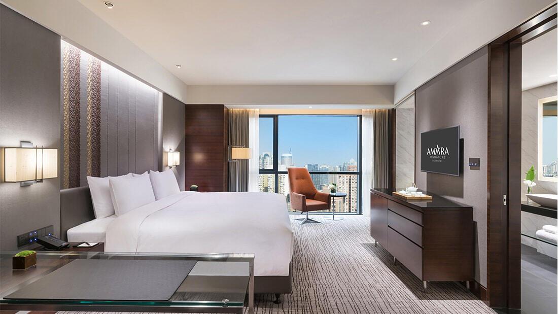Premium Room at Amara Shanghai
