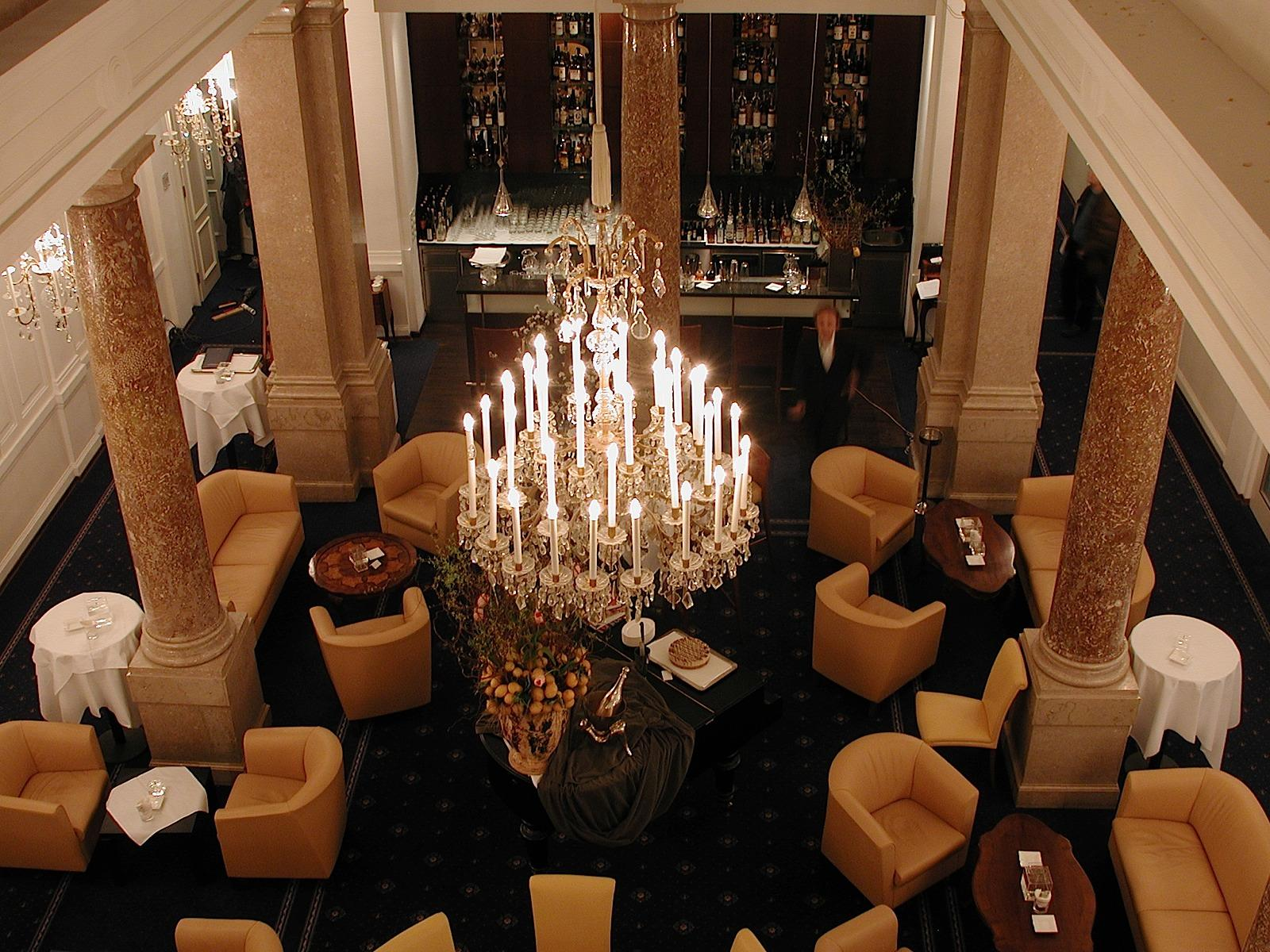 Atrium Bar at Ambassador Hotel in Vienna