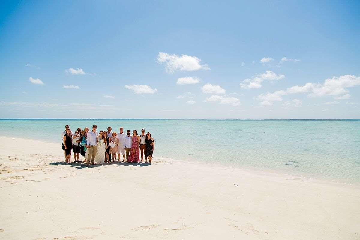 Wedding Party Heron Island Resort