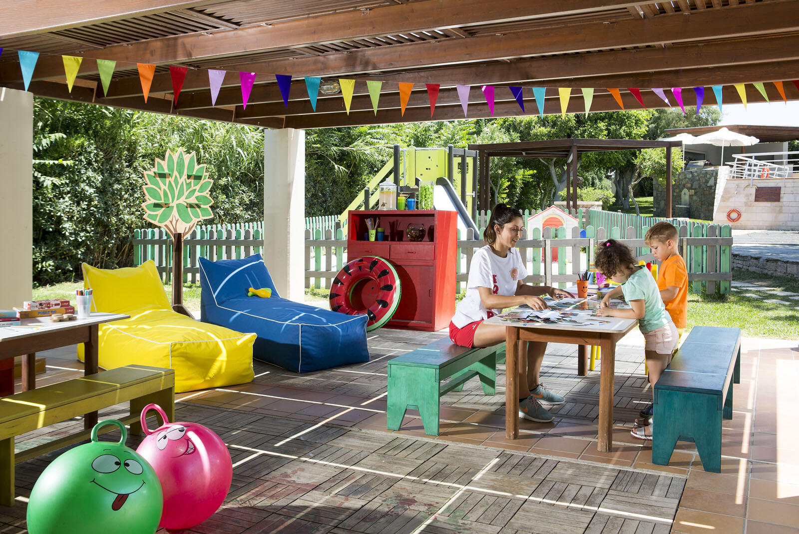 Kids Club at Agapi Beach Resort in Crete