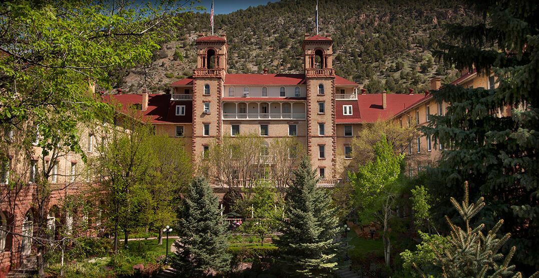 If Madison Were Colorado Springs Wed Be >> Hotel Colorado A Glenwood Springs Colorado Historic Hotel
