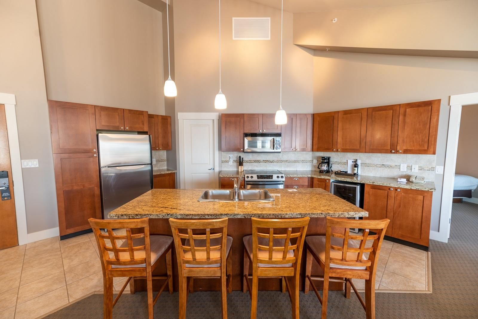 Three Bedroom suite kitchen dining sm