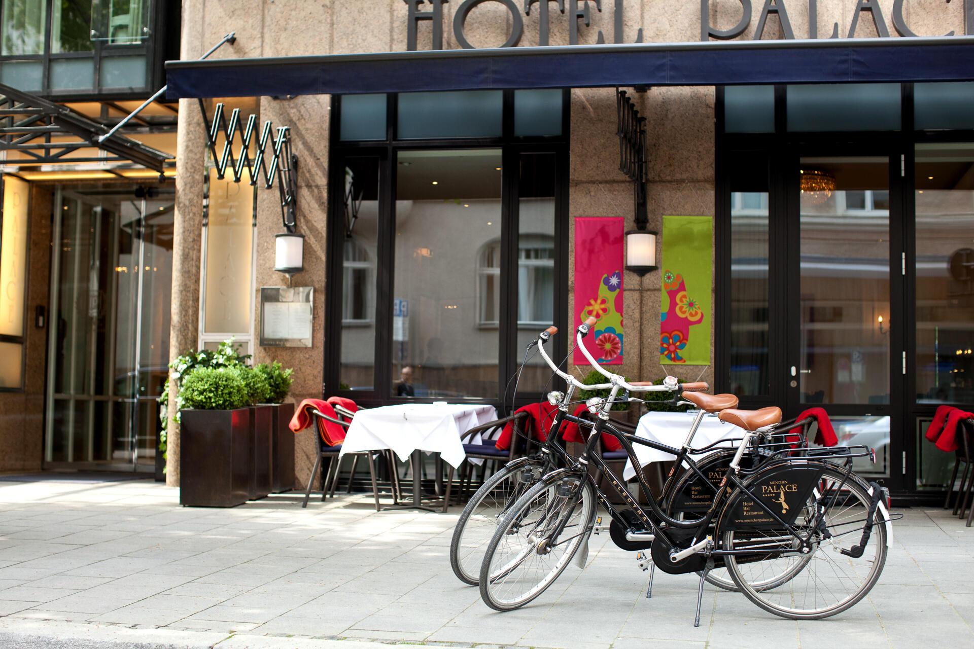 Biking with Hotel Palace Munich
