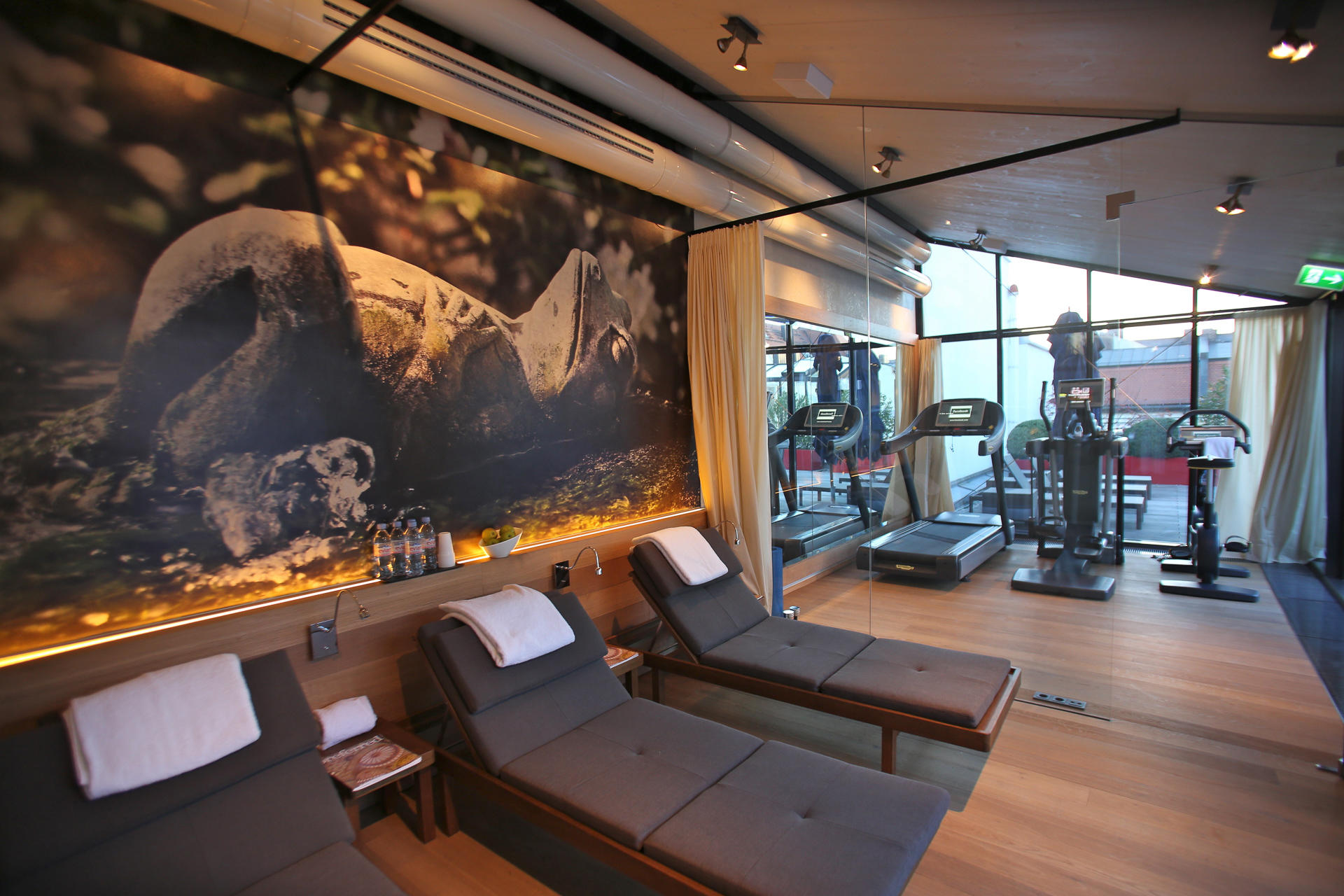 Gym at Hotel Palace Munich