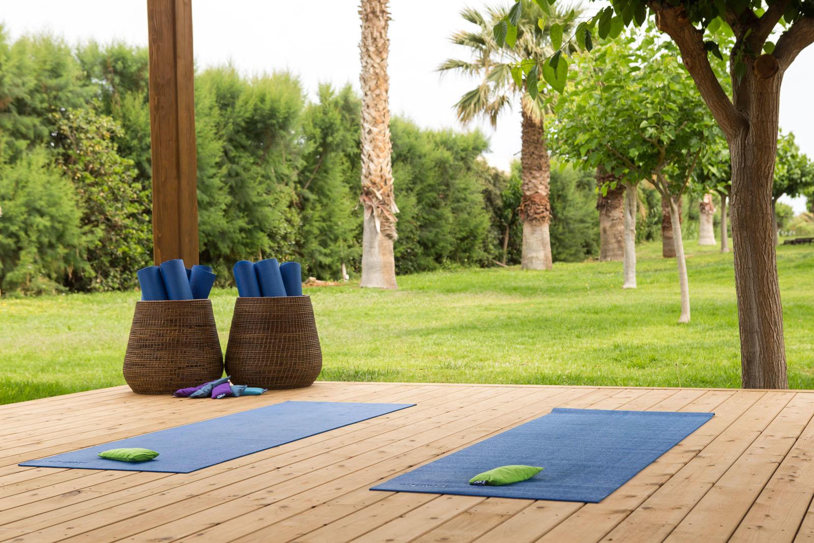 Yoga at Cretan Malia Park