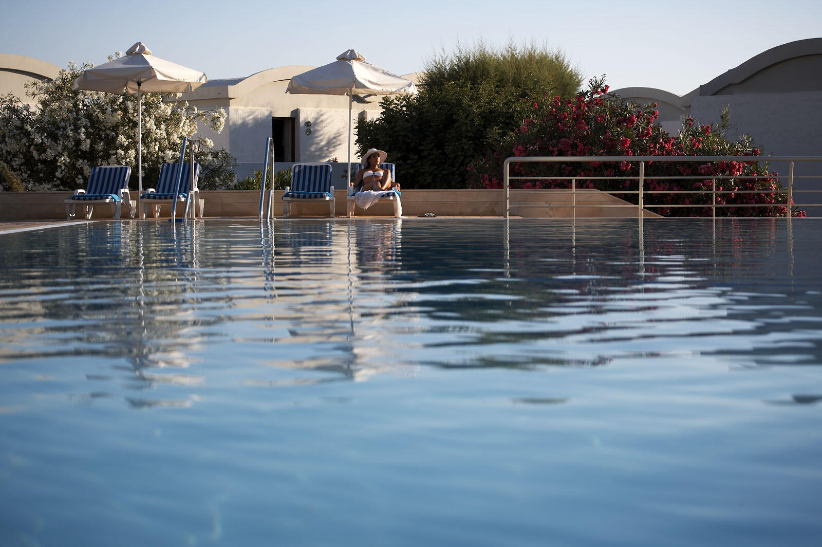 Main pool at Agapi Beach Resort in Crete