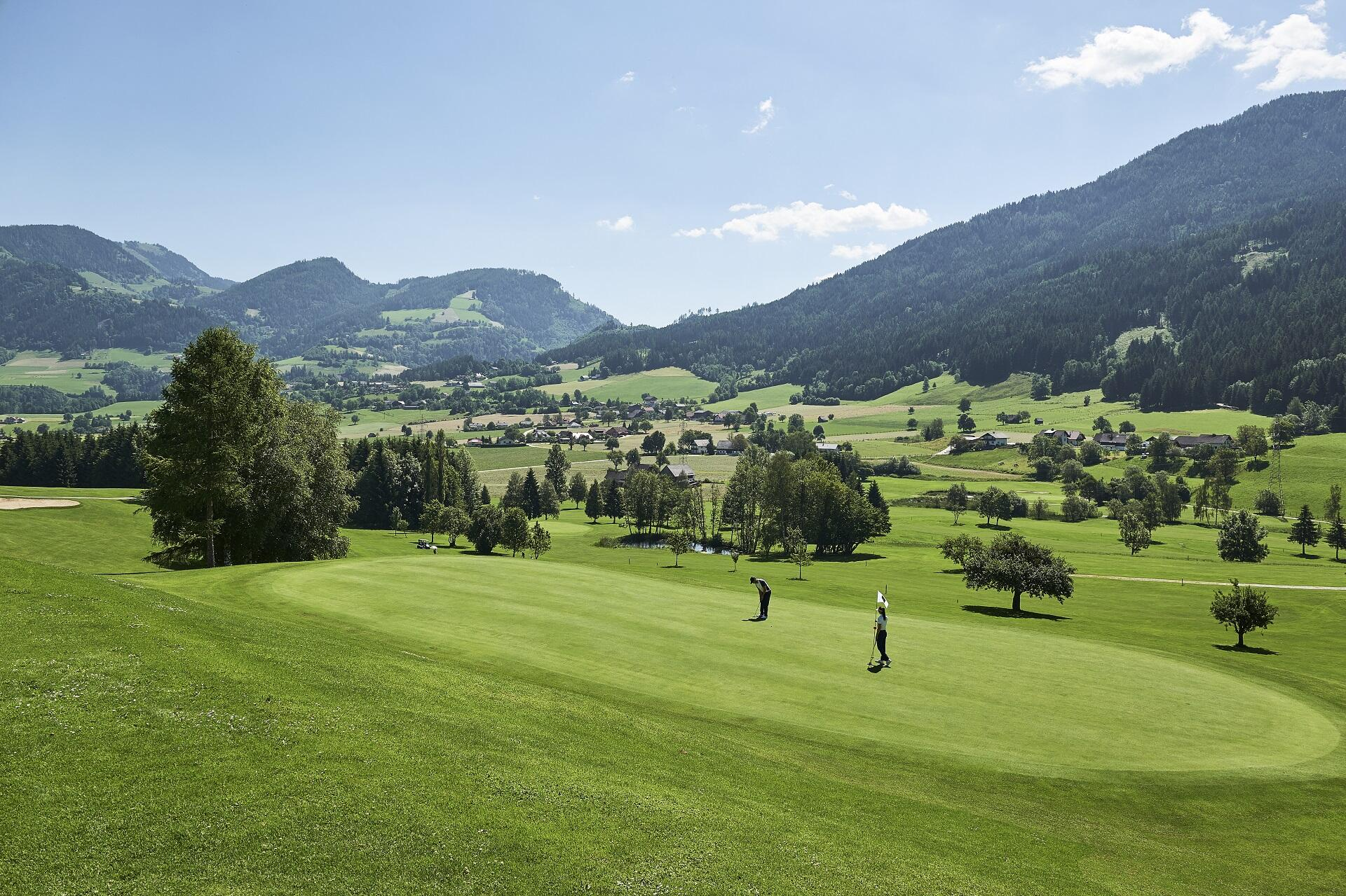 Golf course at Schloss Pichlarn