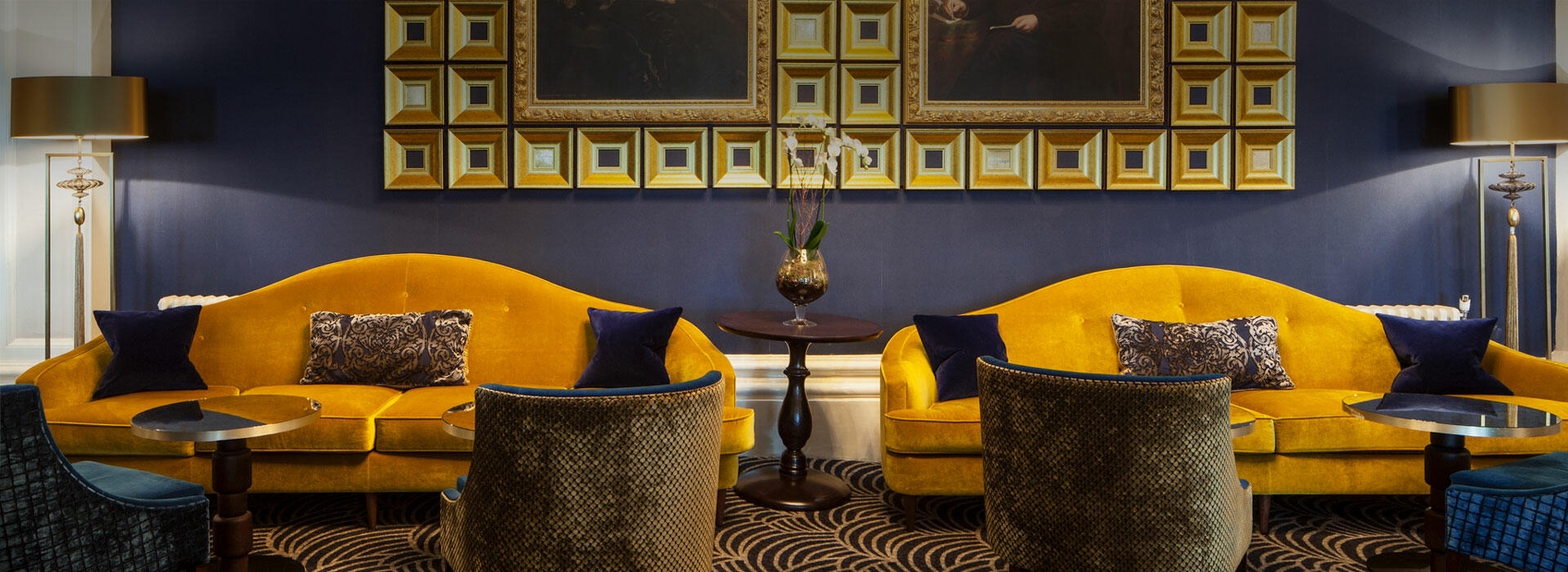Lounge at The Grand Brighton in East Sussex, United Kingdom