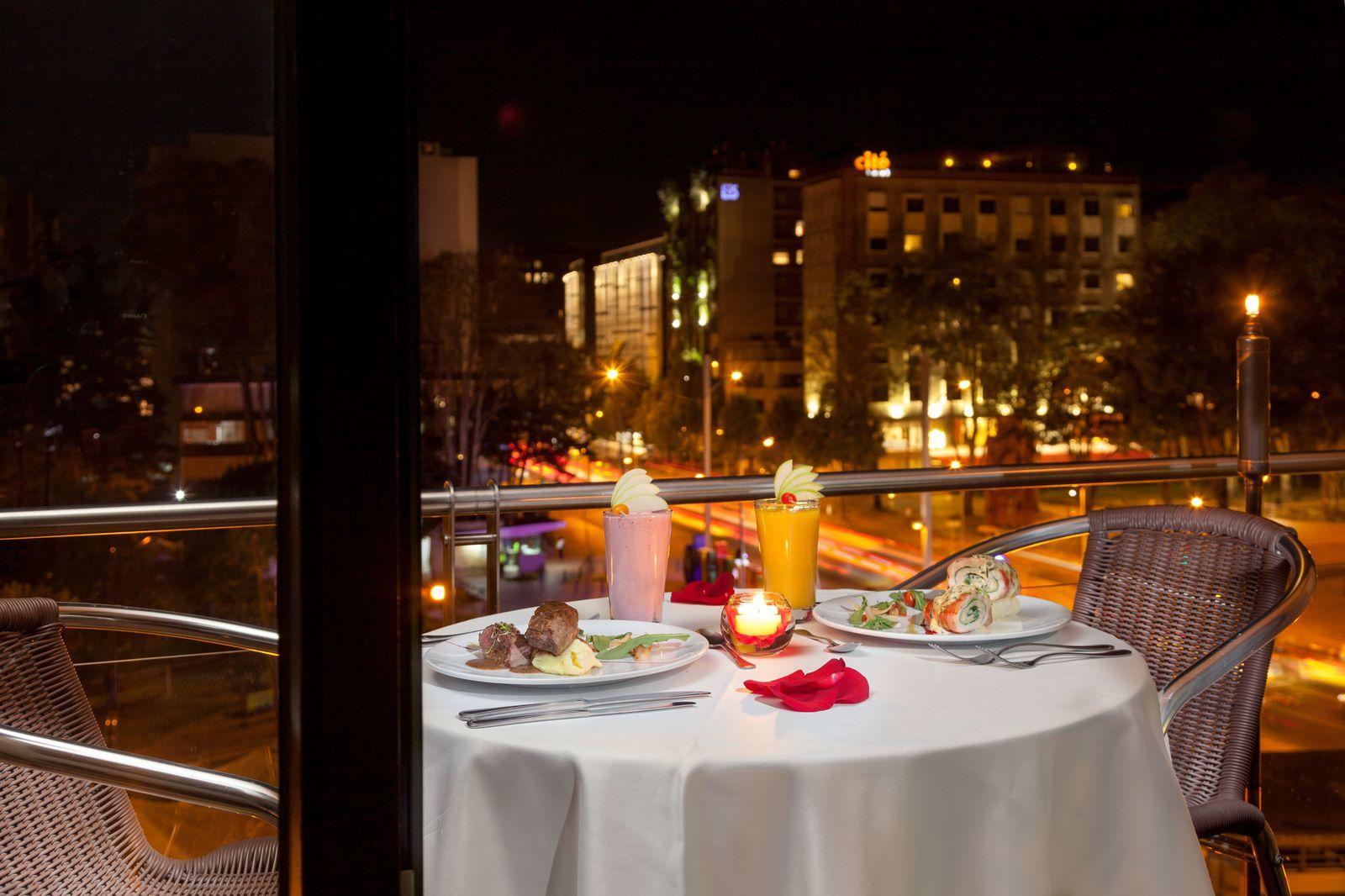 Outdoor Romantic Setting