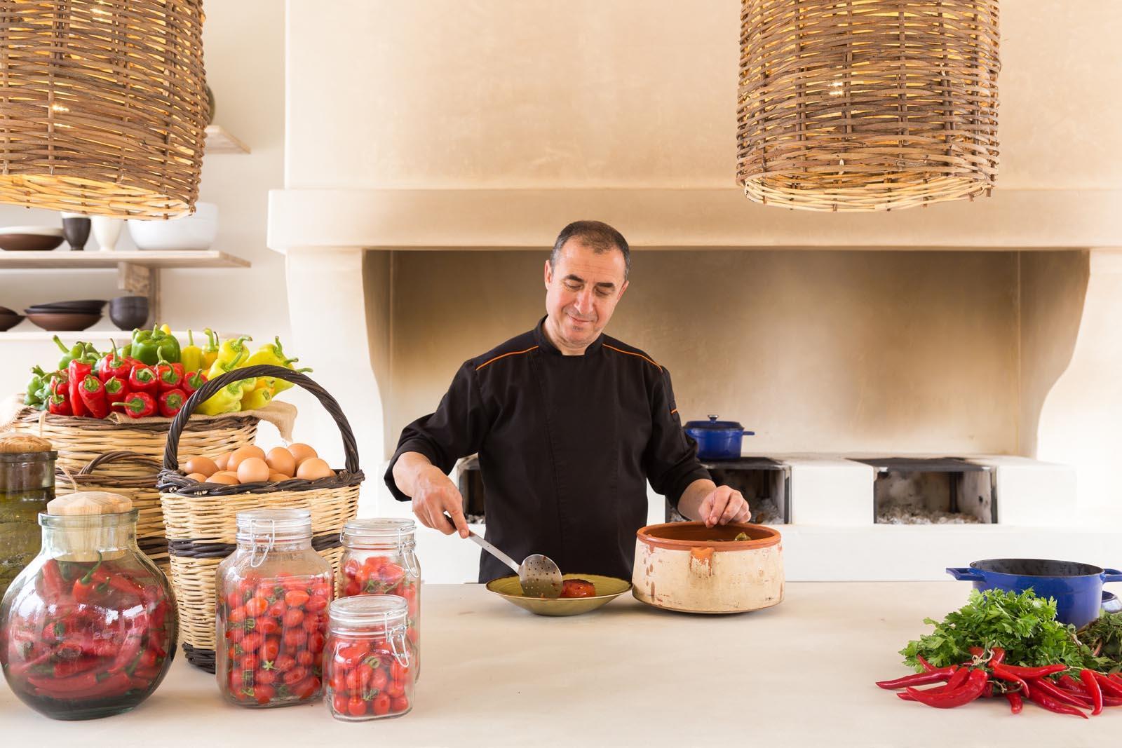 Cooking lessons at Cretan Malia Park