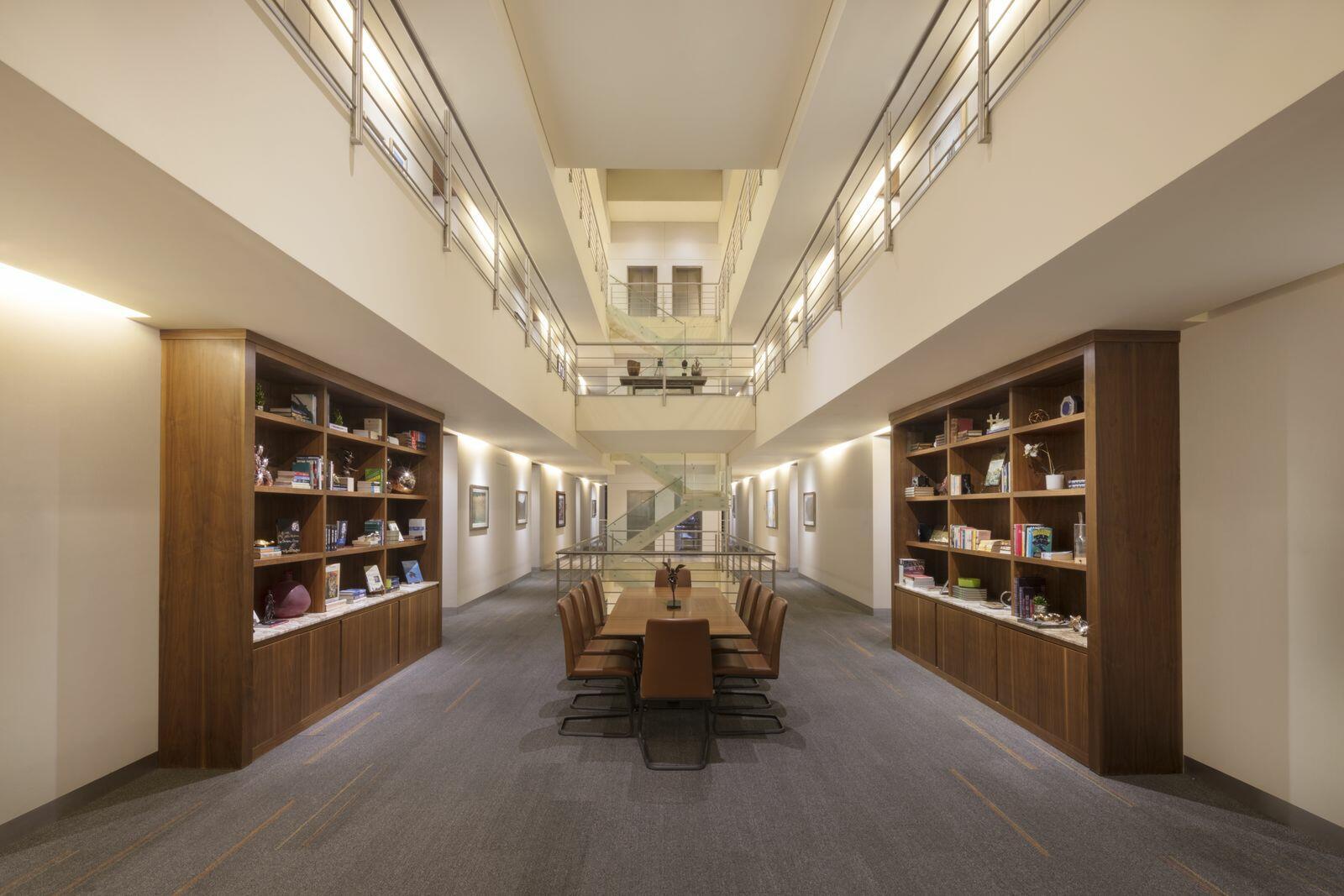 Executive Floor Library Color Corrected Corrected