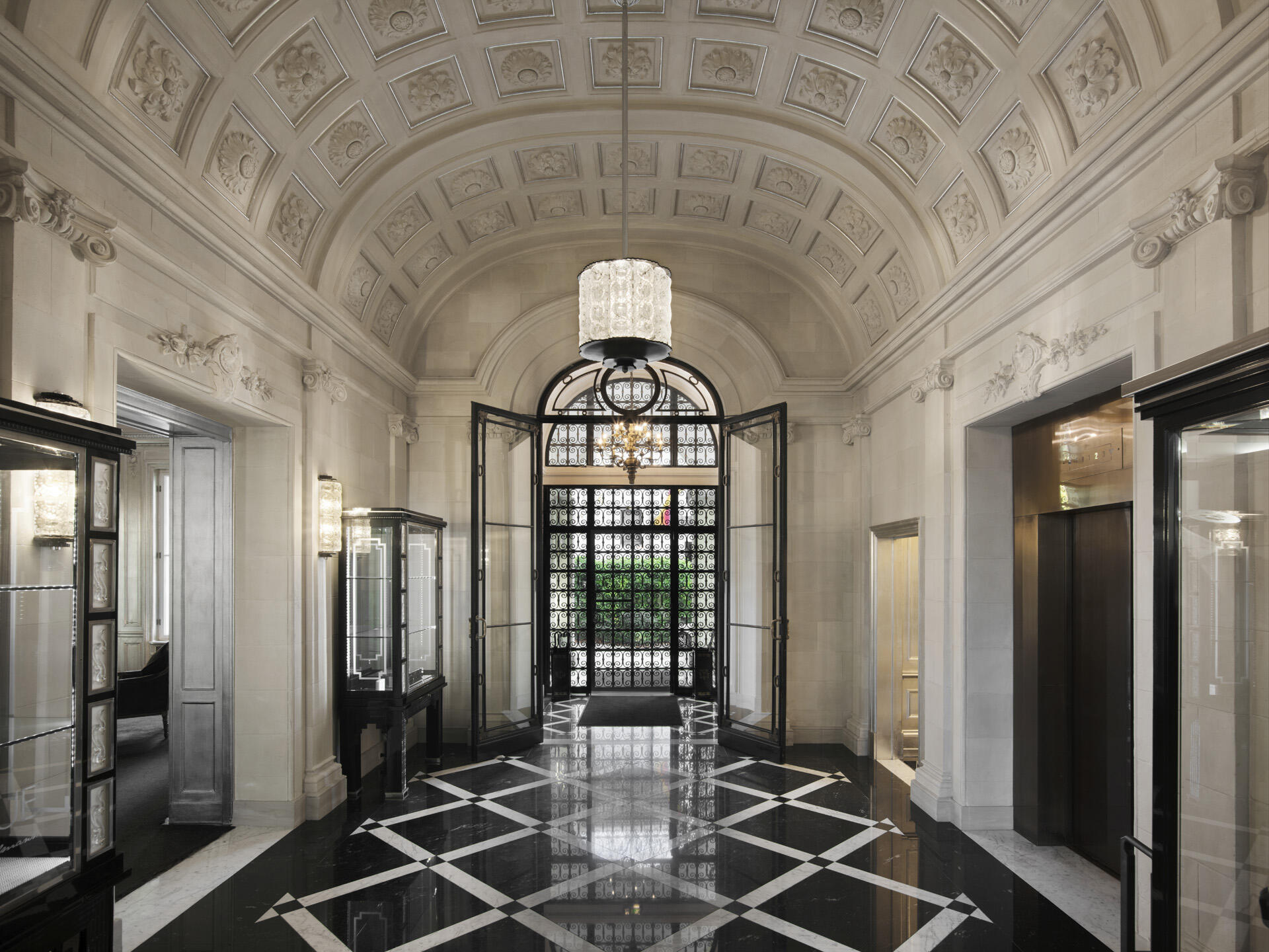 Lobby Entrance at Schlosshotel Berlin by Patrick Hellmann
