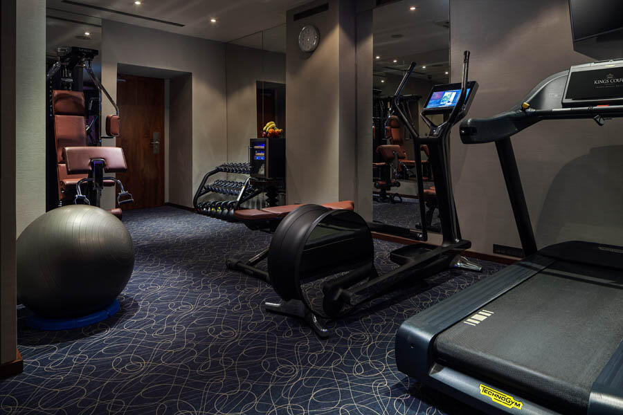 Gym at Hotel KINGS COURT in Prague