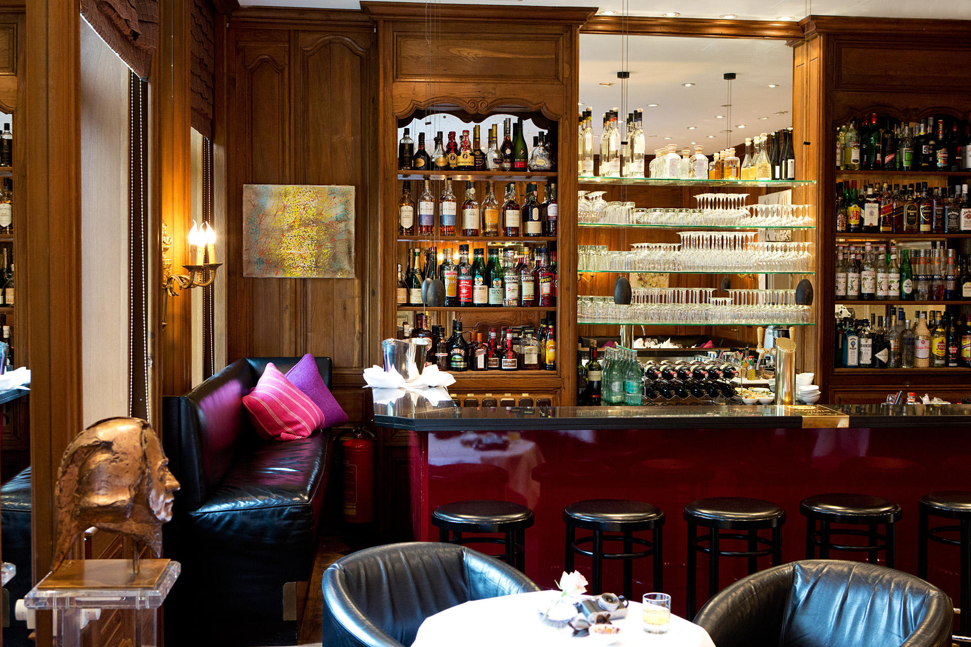 Bar at Hotel München Palace