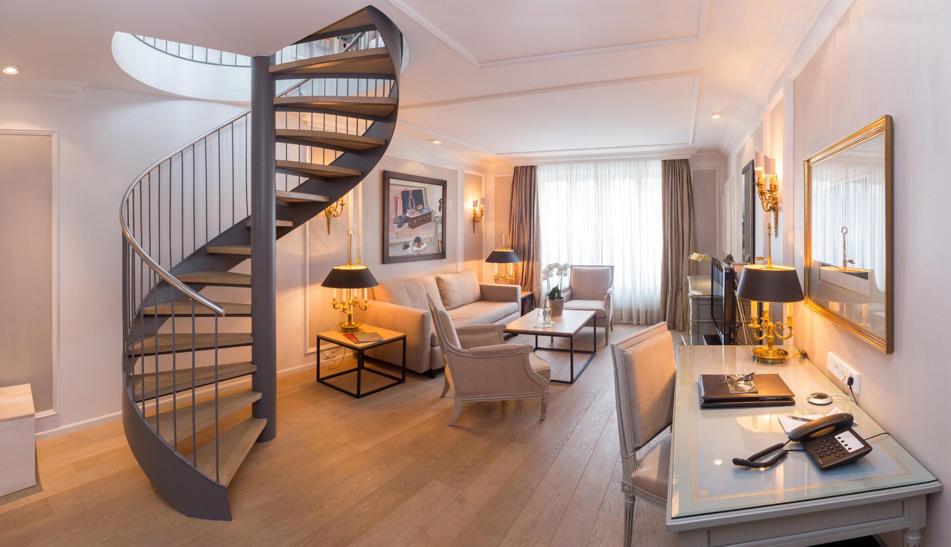 Maisonette Suite at Hotel München Palace