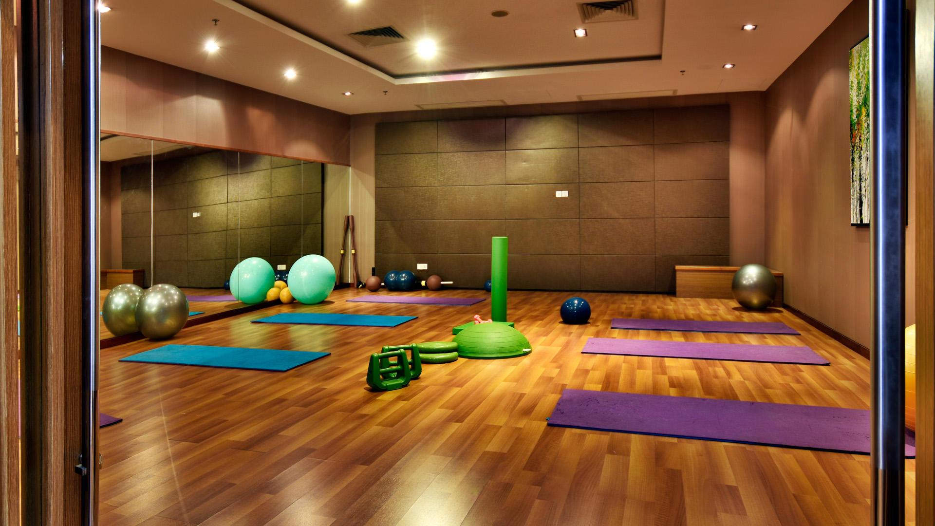 Gym at Fleuve Congo Hotel Hotel in Kinshasa