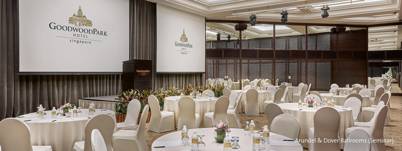 Conference Venue at Goodwood Park Hotel Singapore