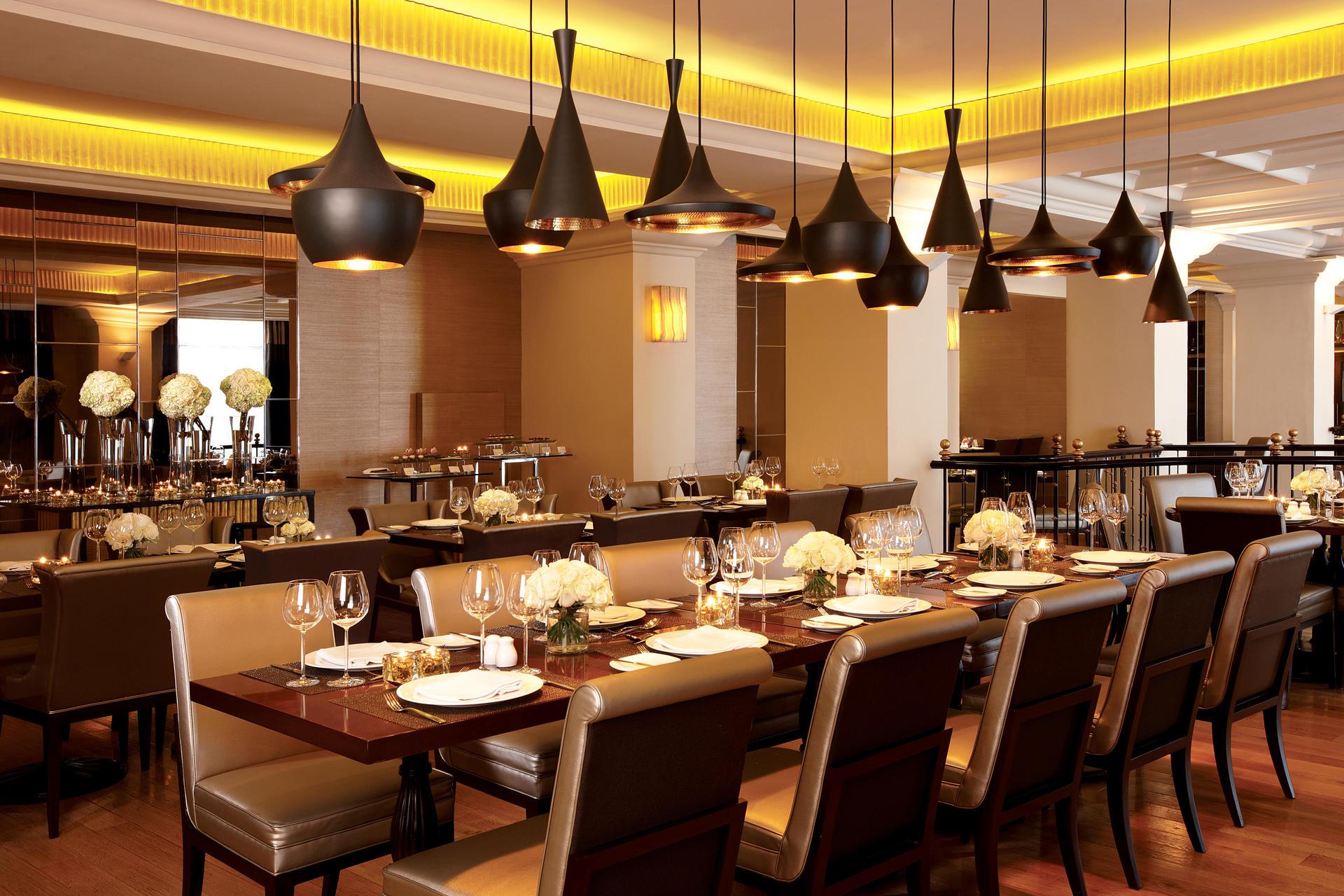 Restaurant at Hotel Gran Mahakam in Jakarta, Indonesia