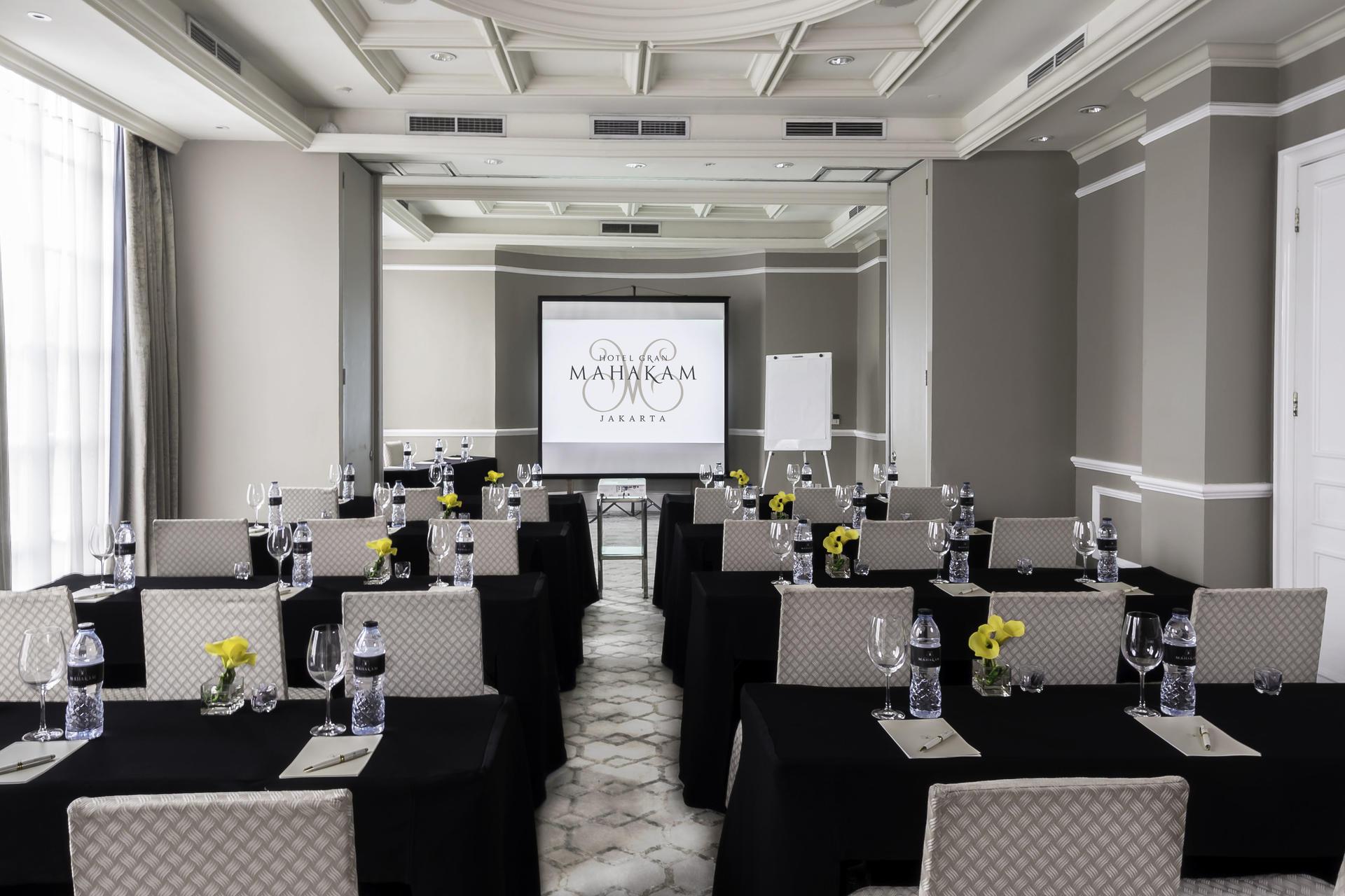 Meetings at Hotel Gran Mahakam in Jakarta, Indonesia