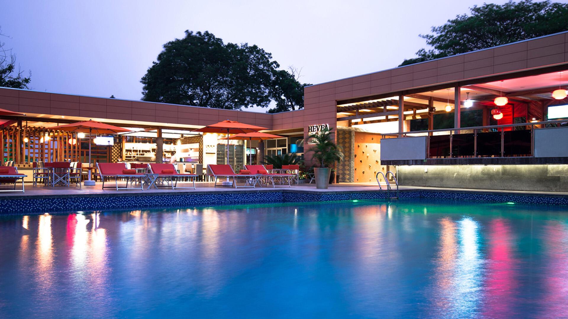 Pool at Fleuve Congo Hotel Hotel in Kinshasa
