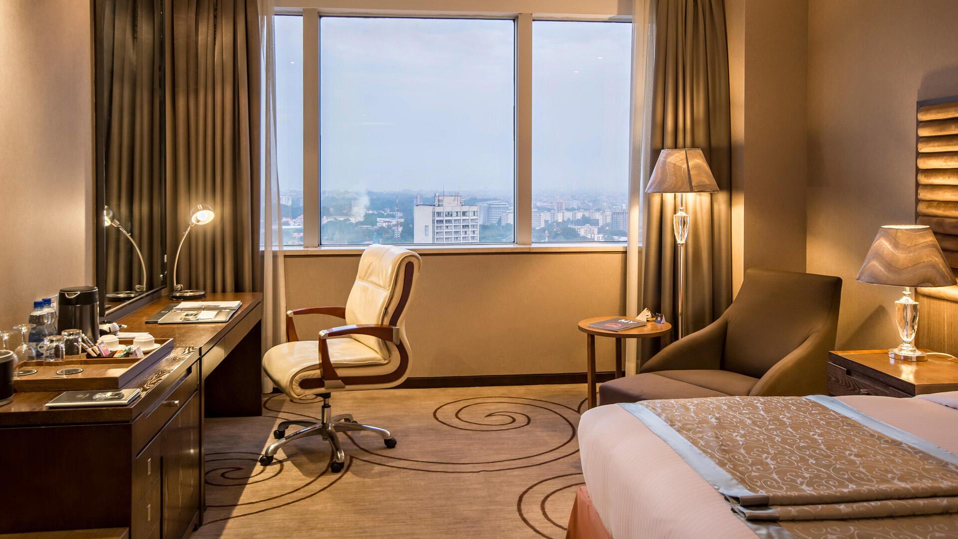 Deluxe Room at Fleuve Congo Hotel Hotel in Kinshasa
