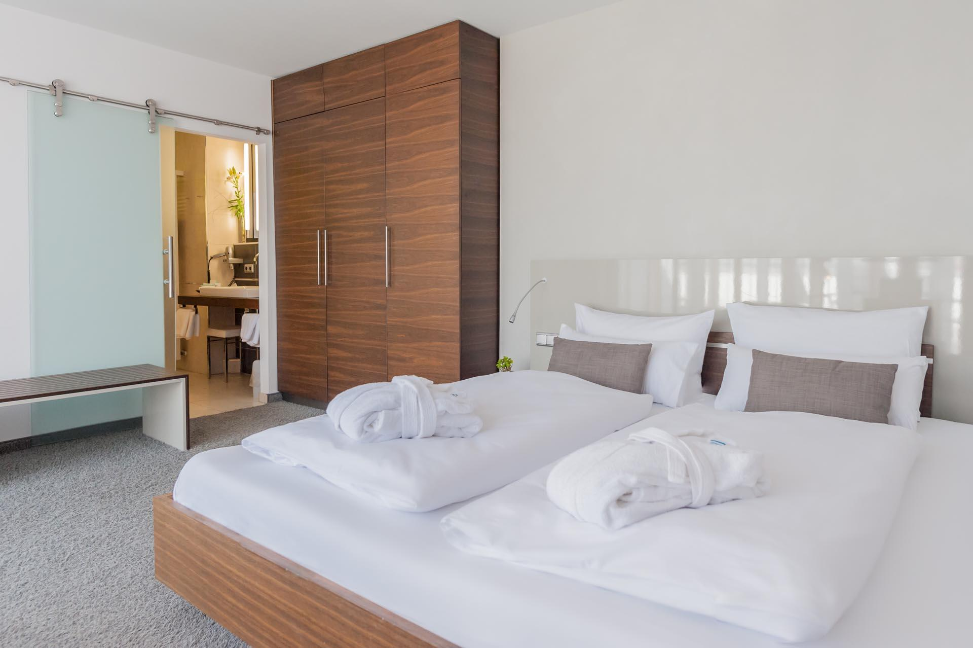 Room at Hotel Frankenland in Bad Kissingen, Germany