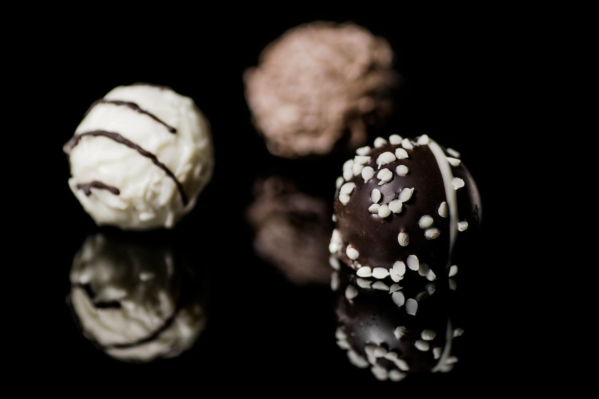 Chocolate Truffles - Food Photography - Yarra Valley Lodge