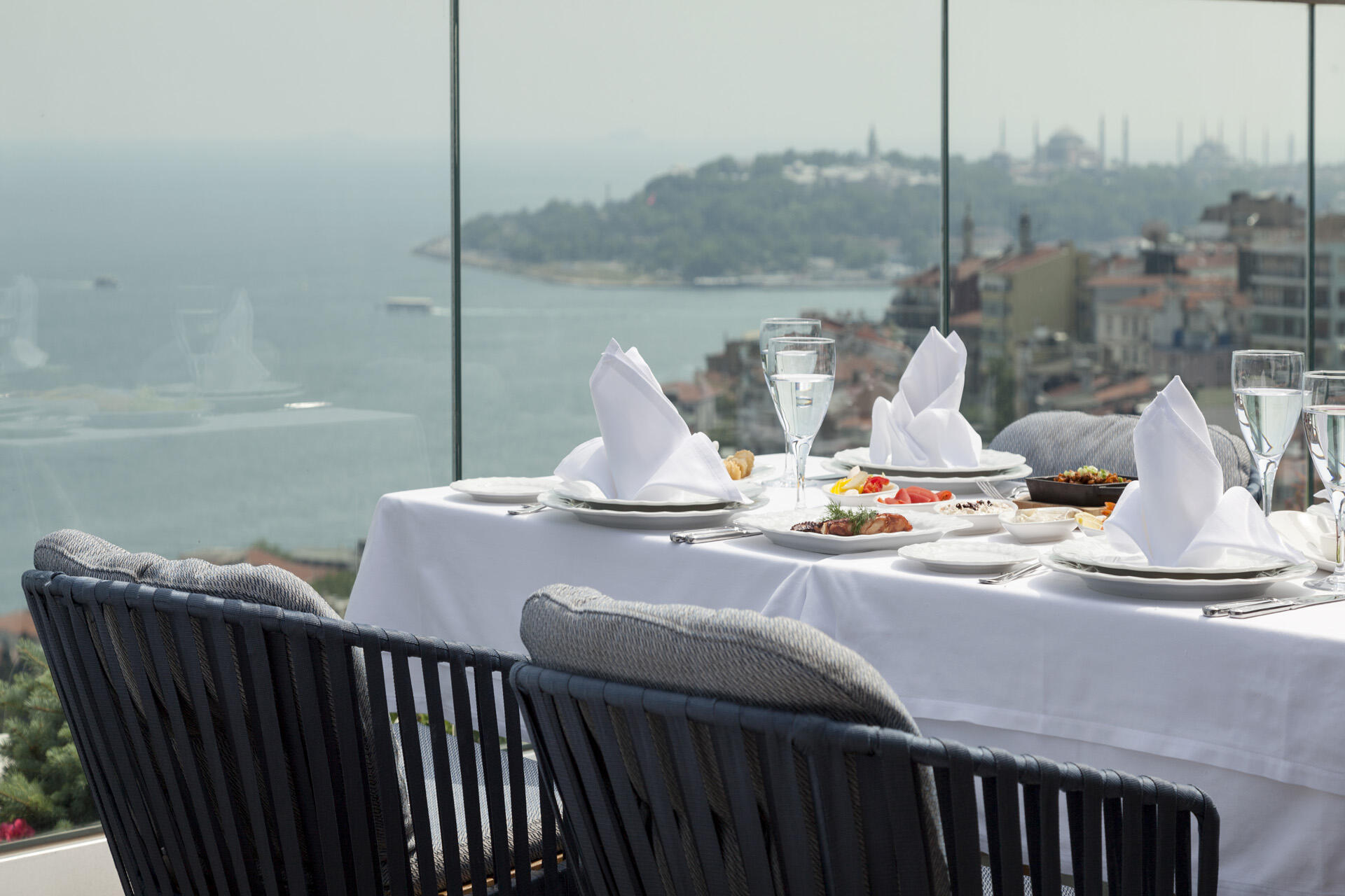 Dining at IZAKA Restaurant & Bar in Istanbul