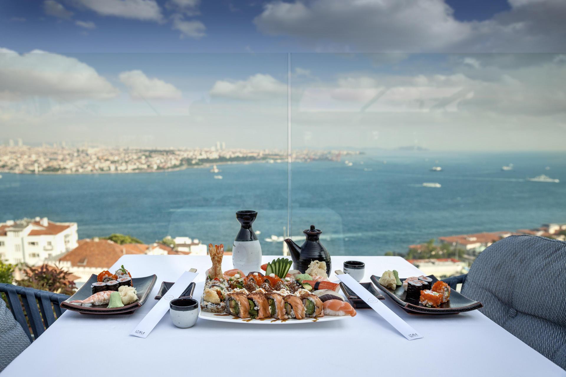 Sushi at IZAKA Restaurant & Bar in Istanbul