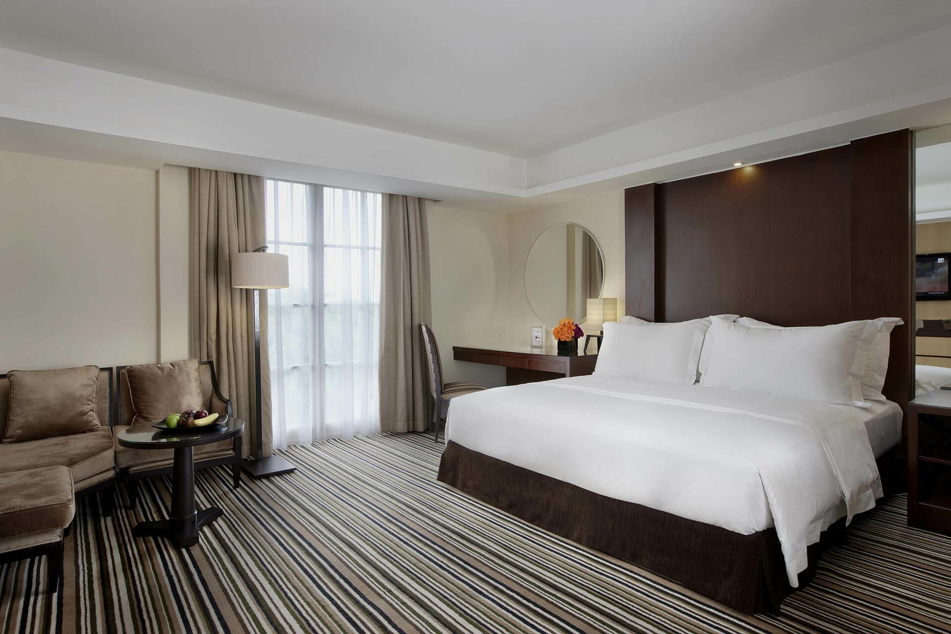Club Suite at Hotel Gran Mahakam in Jakarta, Indonesia