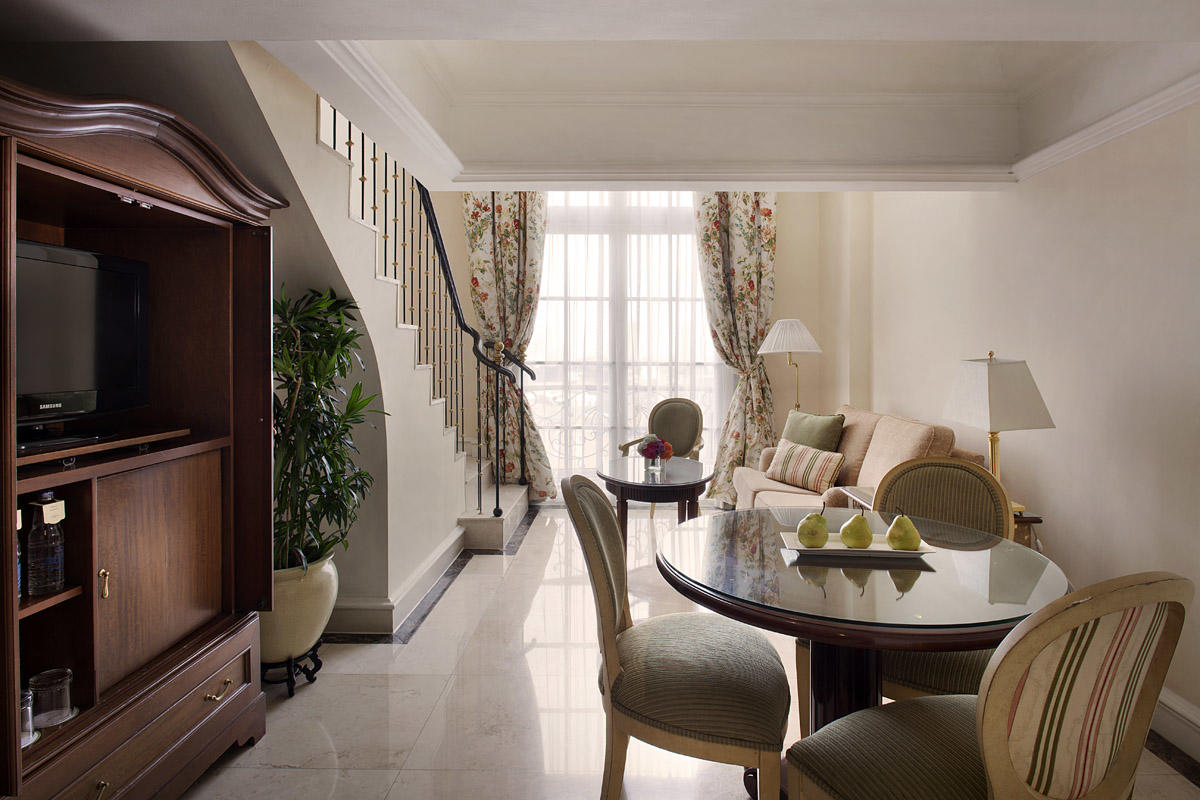 Executive Suite at Hotel Gran Mahakam in Jakarta, Indonesia