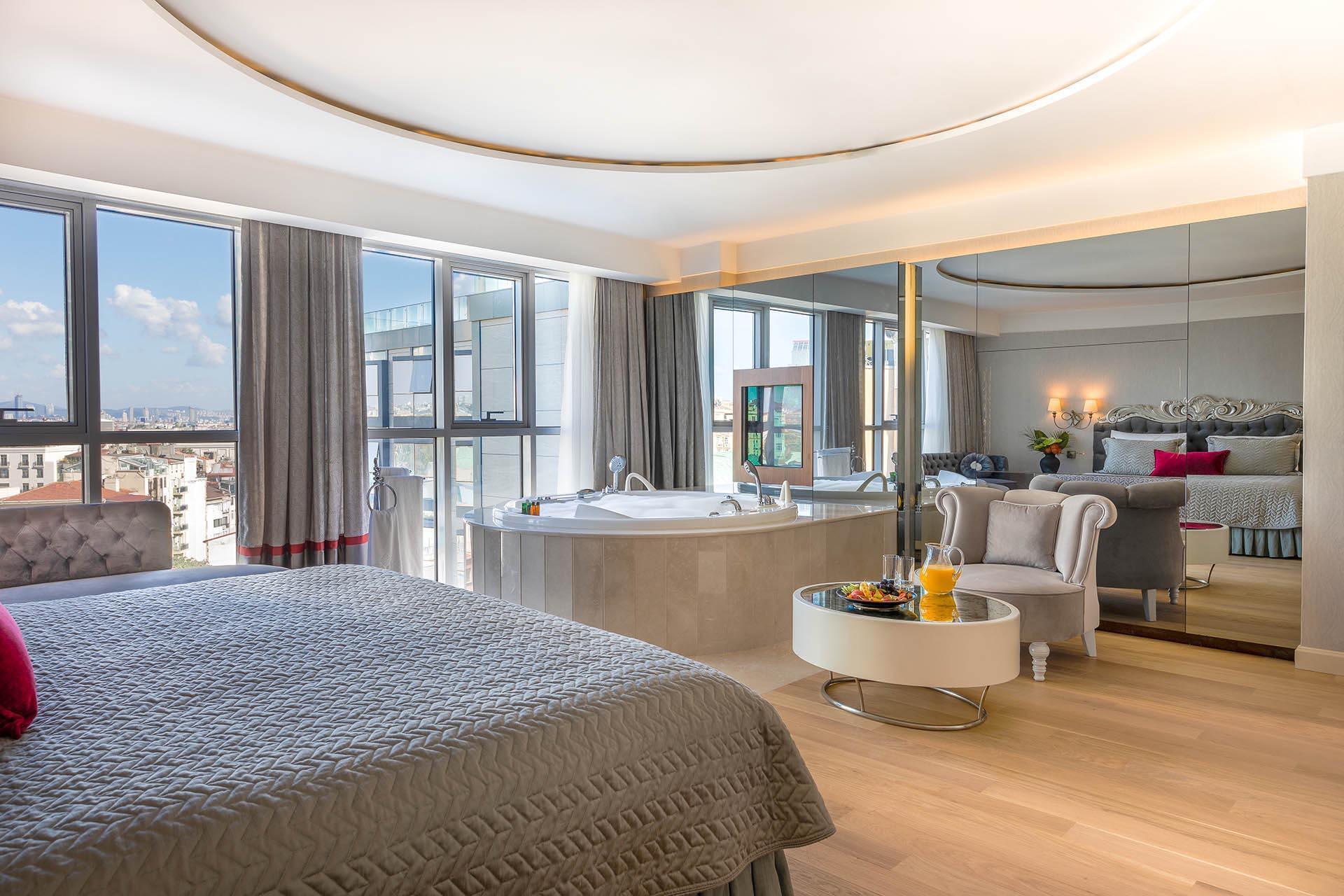 Luxury Suite at CVK Taksim Hotel in Istanbul