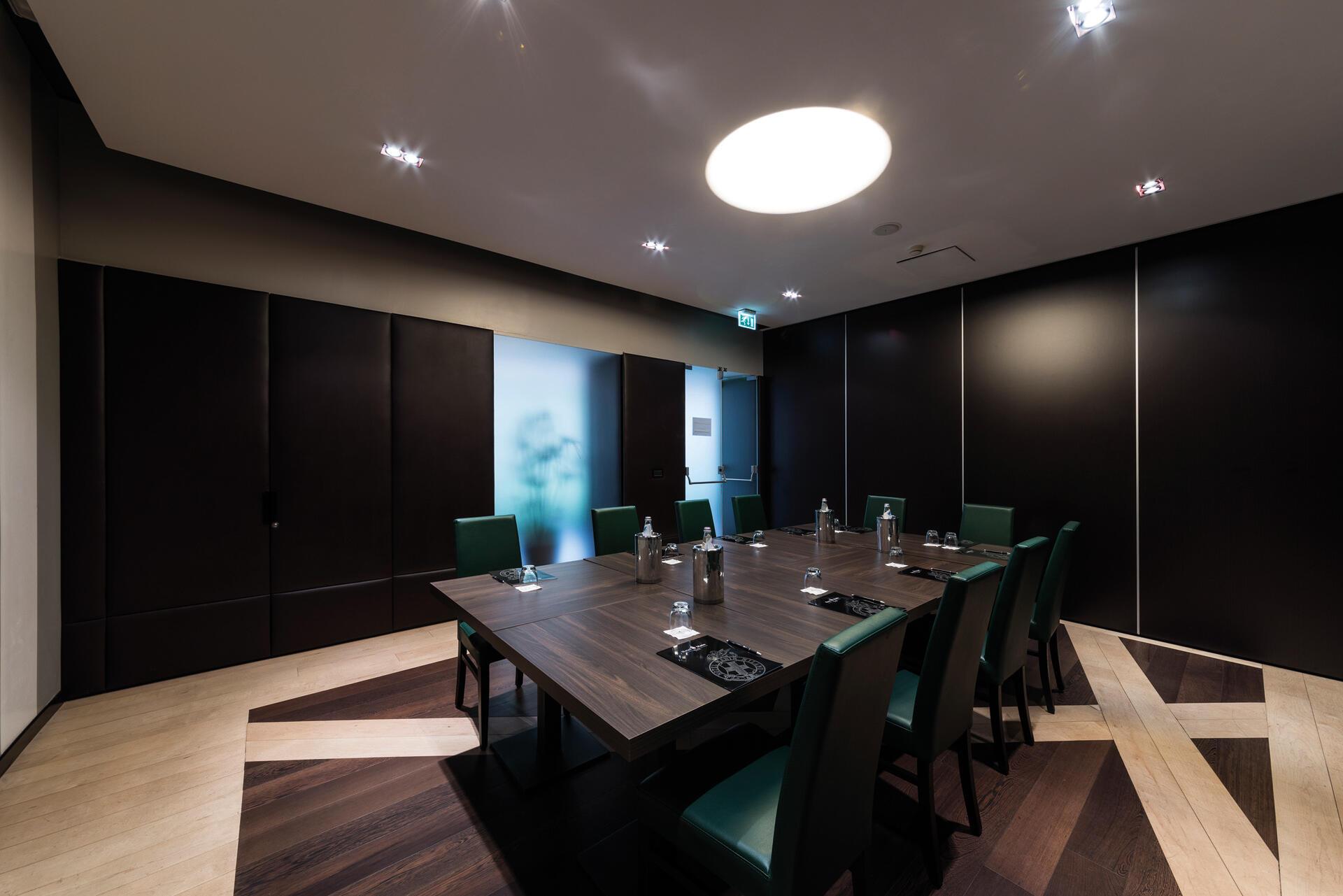 Meeting room at Manin Hotel Milano