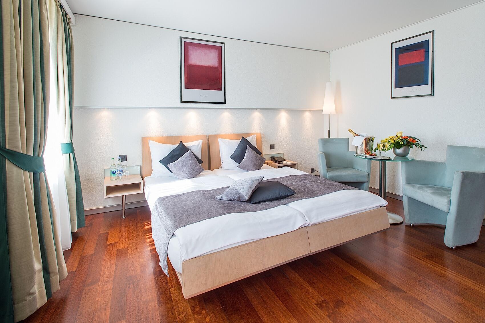 Double Room at Hotel Krone Unterstrass in Zurich