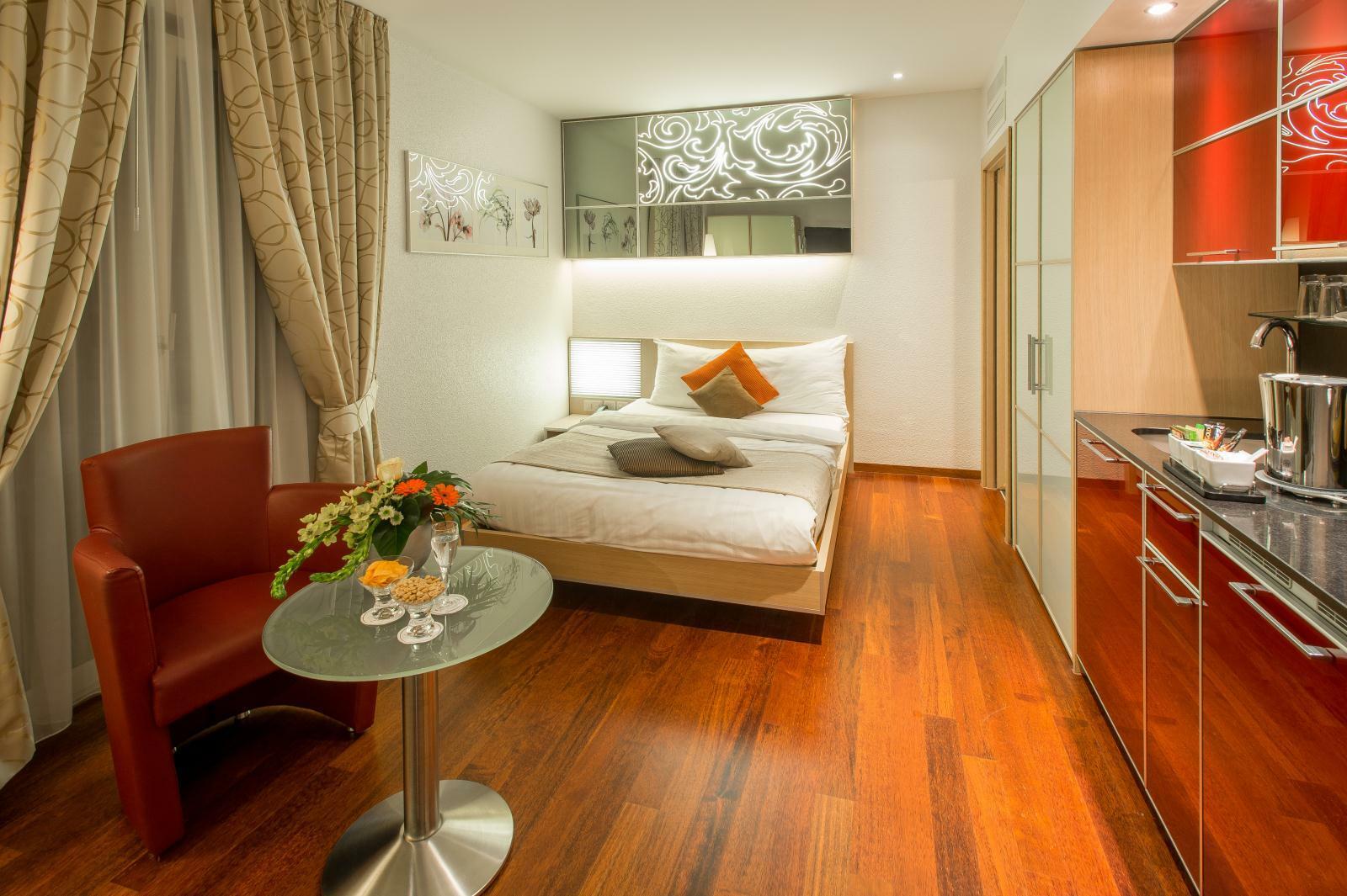 Single Room at Hotel Krone Unterstrass in Zurich