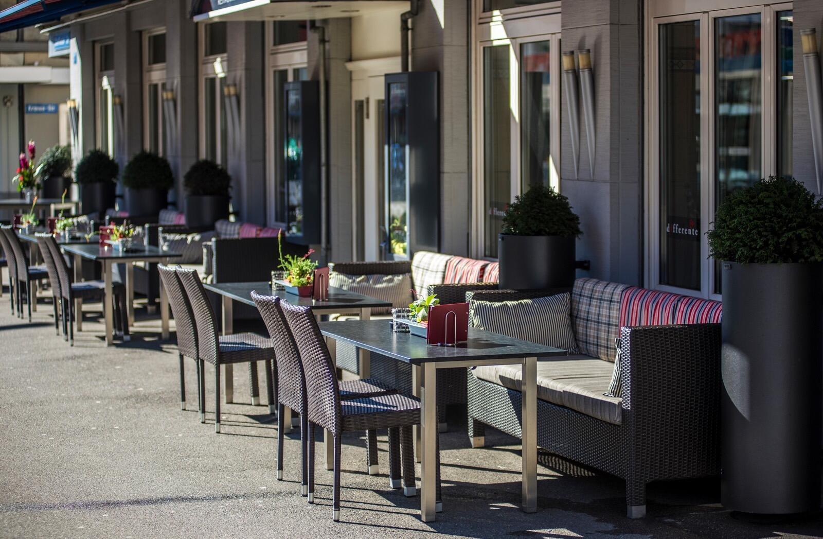 Restaurant at Hotel Krone Unterstrass in Zurich