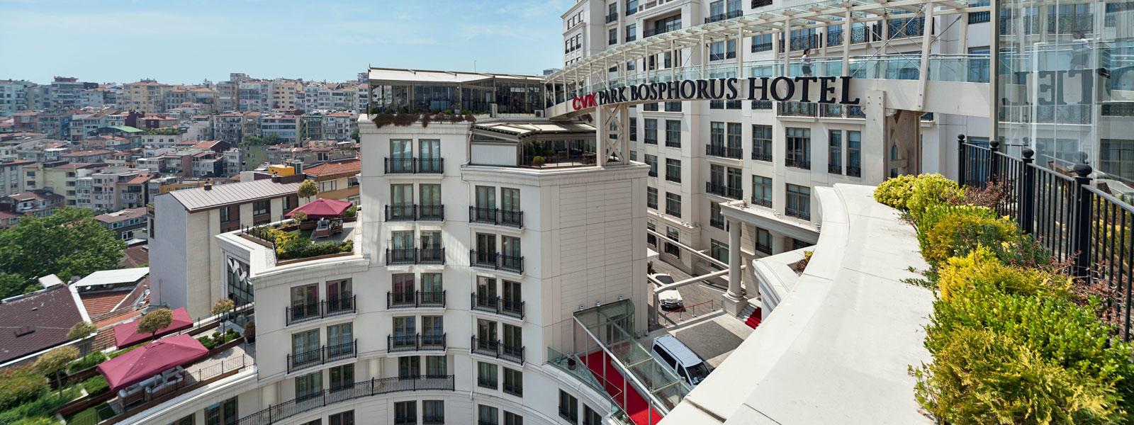 CVK Taksim Hotel in Istanbul