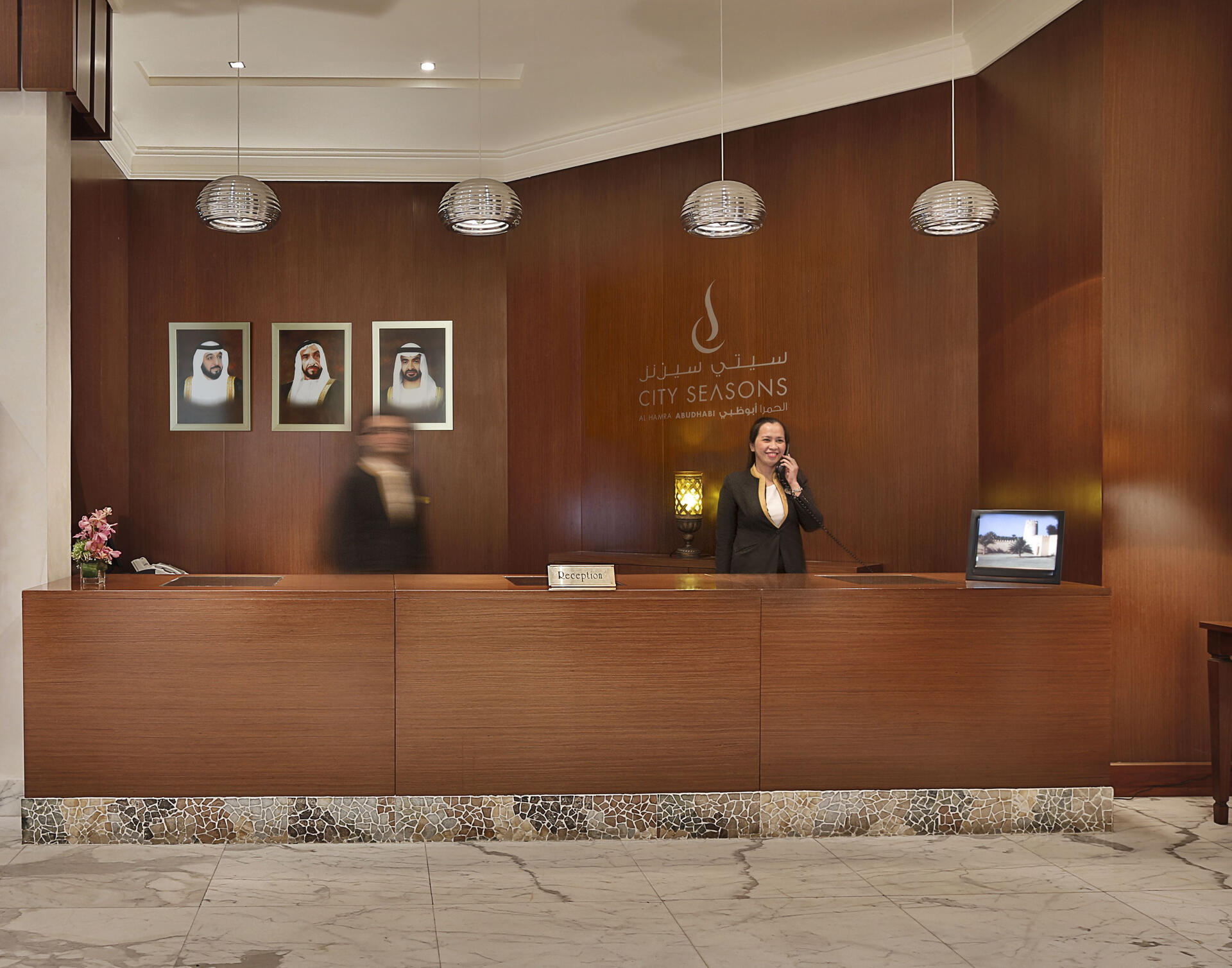 Reception of City Seasons Hotels