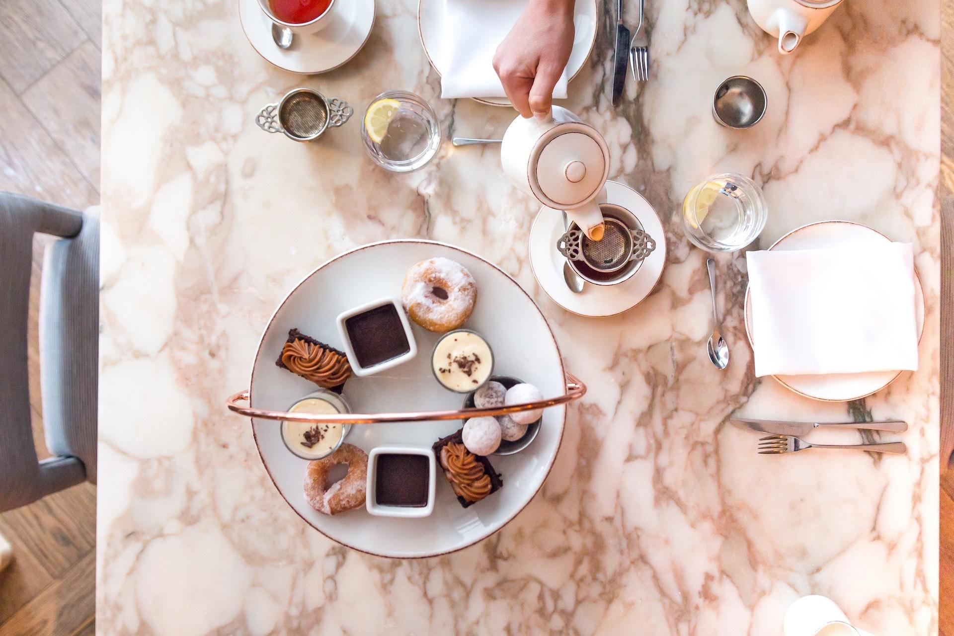 Signature Charbonnel et Walker Afternoon Tea