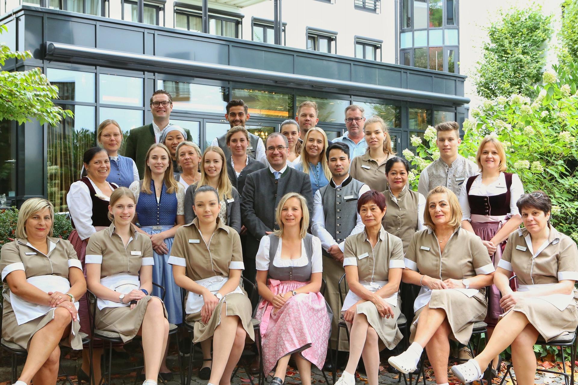 Team at Hotel Palace Munich